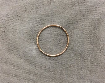 20mm Gold Filled OD 19ga Large Ring, 12/20 GF