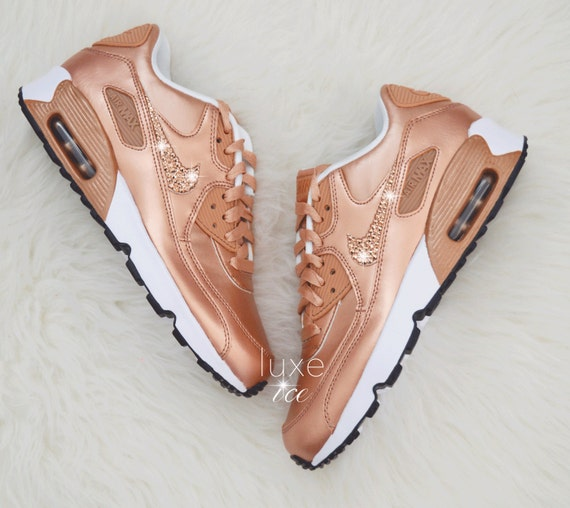 85123f7699 Nike Air Max 90 Coral Rose Gold Rose Gold Air Max 90