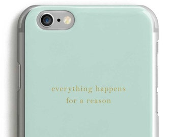 Quote iphone 6 case, Personalized iphone 6 plus case, Personalized iphone 6s case, custom iphone case, quote iphone case, gold iphone 6 case