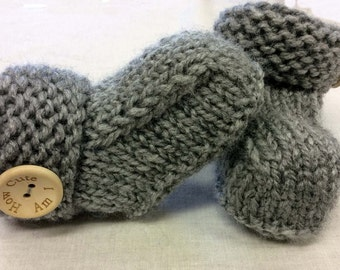 Hand-knitted Hug Boots~1-2 years