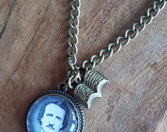 Edgar Allan Poe - Charm Necklace
