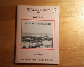 Pictorial History of Seattle, vintage booklet on Seattle History