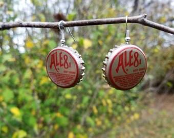 Ale81 Bottle Cap Earrings