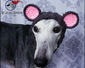Mouse Snood for Greyhounds