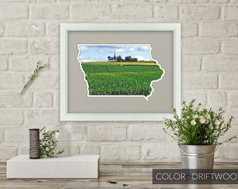 Iowa Photo Map