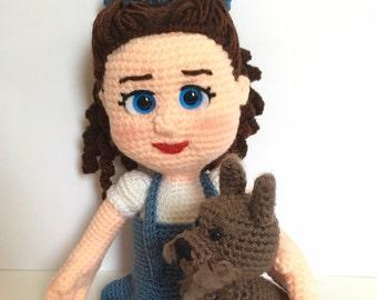 CROCHET PATTERN - Wonderful World of Oz: Dorothy & Toto