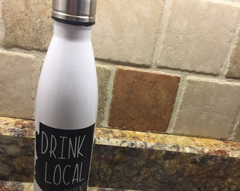 Home State Stainless Steel 17 oz. Water Bottle