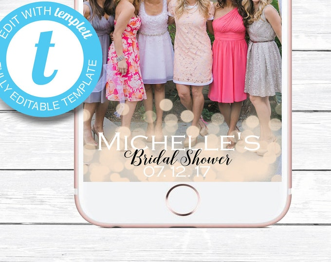 Bridal Shower Geofilter, Bridal Shower Snapchat, Custom Geofilter, Custom Snapchat, Bridal Shower, Wedding Snapchat, Bridal Shower Filter