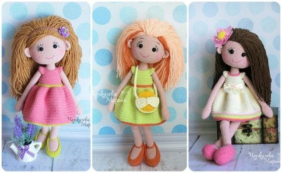 Куклы вязаные крючком вязание куклы