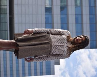 Polka dot Cotton Skirt