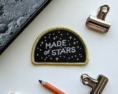 Made of Stars Carl Sagan Cosmos Embroidered Patch