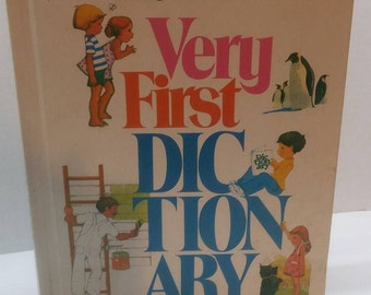 Macmillan Very First Dictionary A Magic World of Words 1983