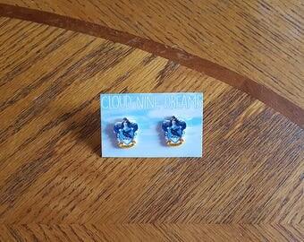 Harry Potter Inspired Ravenclaw House Crest Earrings