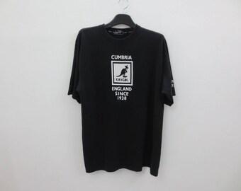 Kangol Shirt Men Size L Vintage Kangol T Kangol England Relaxed T
