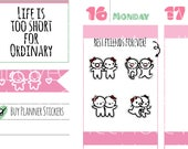 Munchkins - Best Friends Forever BFF Friends or Sibling Planner Stickers (M262)
