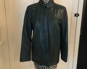 Vintage Saks Fifth Avenue Leather Jacket