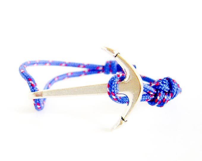 Nautical Bracelet With Anchor, Nautical Themed Bracelet, Nautical Jewelry Bracelets
