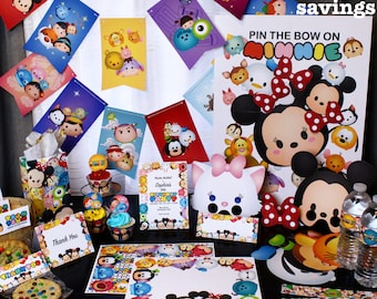 Tsum Tsum Theme Ultimate Party Package