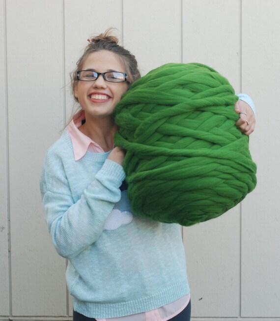 Chunky Yarn 100 Organic 21 Micron Merino Wool 1 1 Lb