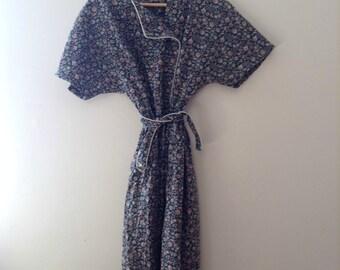 Vintage Maxi Floral Dress