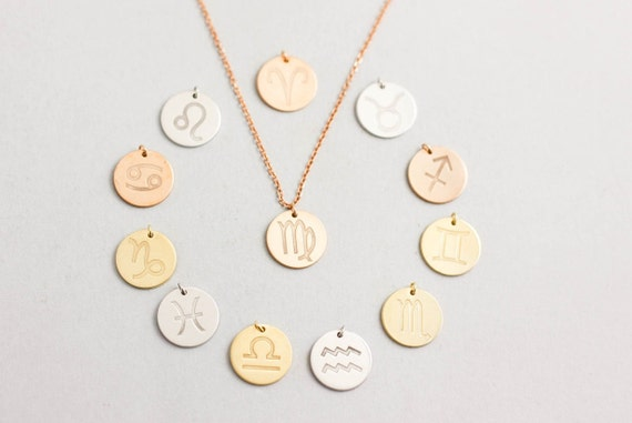 Image result for zodiac sign jewelry
