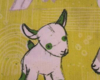 Baby Goat Reversible Bib Free Shipping