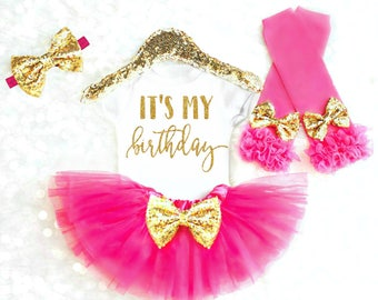 Its My Birthday Shirt, 1st Birthday Girl Shirt, First Birthday Outfit, 2nd Birthday Outfit, 3rd Birthday Shirt 4th Birthday Shirt ANY AGE B8
