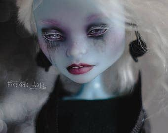 OOAK Monster High Doll Abbey/repaint