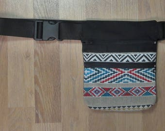 Ethnic fabric Fanny Pack