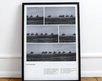 Seahaven Screenprint • Design by Simon Marchner || Gig Poster Artprint Silkscreen Limited Edition Siebdruck Print Gigposter