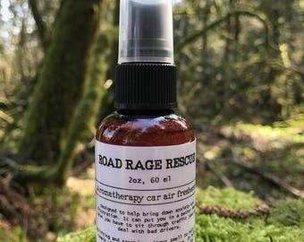 Road Rage Rescue- Aromatherapy car air freshener, fragrance spray, air freshener, bad smell killer, relaxation spray