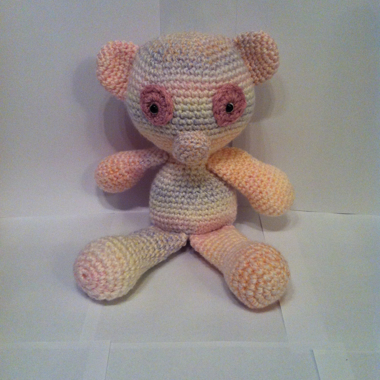 Teddy Crochet Teddy Teddy Bear Stuffed Animal Amigurumi