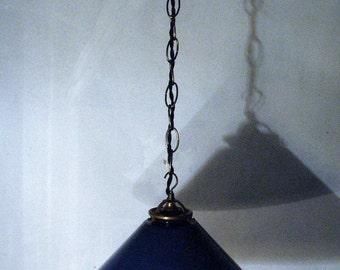 """Opaline suspension """"Navy Blue"""""""