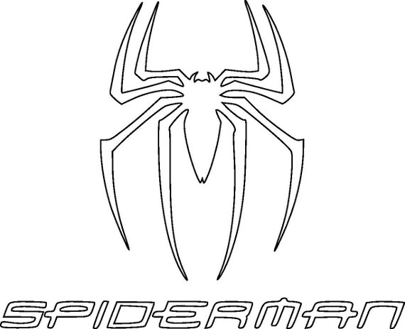 spiderman svg spiderman sihouette vector files for