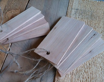 Reclaimed Wood Tags, Gift Tag, Wooden Tag, Blank Wood Tag
