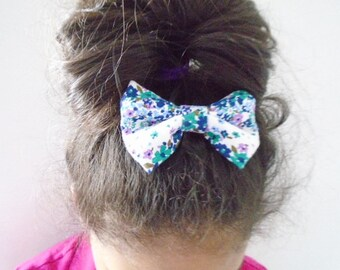 Free! hair bow barrette for this week, Hair bow french barrette for girl