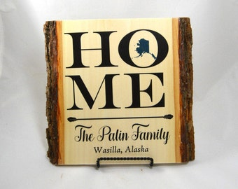 Family Name Wall Art wooden signs home sign decor last name establish sign wood