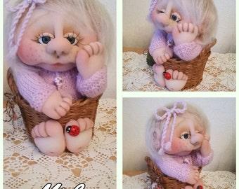 Lilli doll Soft doll  Interior doll RAG doll  Handmade dolls