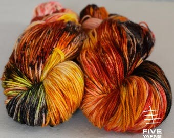 Hand dyed yarn, A Different Story - Sock - Merino Superwash/Cashmere/Nylon, Handdyed yarn, Hand dyed sock yarn, MCN