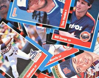 1987 Baseball cards sets of 87, Vintage Baseball cards, Sports cards, Sport gift, Donruss cards, MLB gift, Toronto Blue Jays, MLB cards