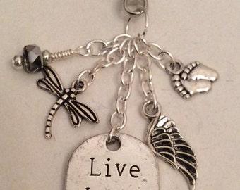 Live x Love x Laugh Keychain