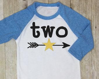 Second Birthday Shirt-Two Birthday Shirt-2nd Birthday Shirt-Boys Second Birthday Shirt-Boys Birthday Raglan-Boys 2nd Birthday Raglan
