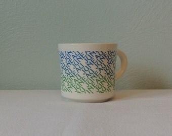 1970s Juneau, Alaska Souvenir Mug