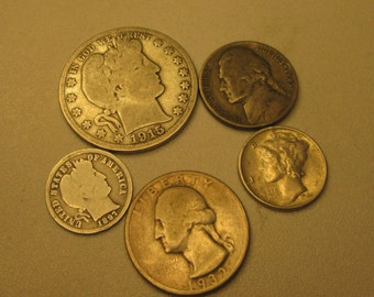 Silver United States Coins (Pre-1965)