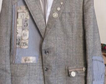 Upcycled vintage jackets