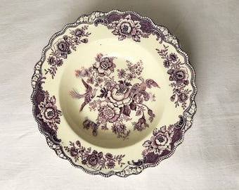 Red Crown Ducal Bristol Cake Plate