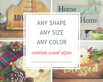 Custom Wood Sign- Custom Sign- Personalized Sign- Personalized Wood Sign- Custom Wooden Sign- Personalized Wooden Sign- Wood Signs- Wood