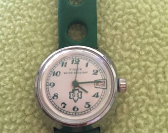 Vintage Girl Scout Watch