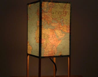 Table Lamp, Accent Lamp, Graduation, Paper Lamp, Light Up Globe, Map Lamp