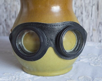 Vintage motorcycle goggles steampunk cosplay LARP safety glasses retro eyewear costume party accessory